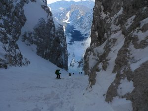 Jalovec Couloir